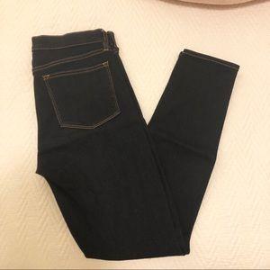 EUC J. Crew Dark Wash Stretch Skinny Jeans